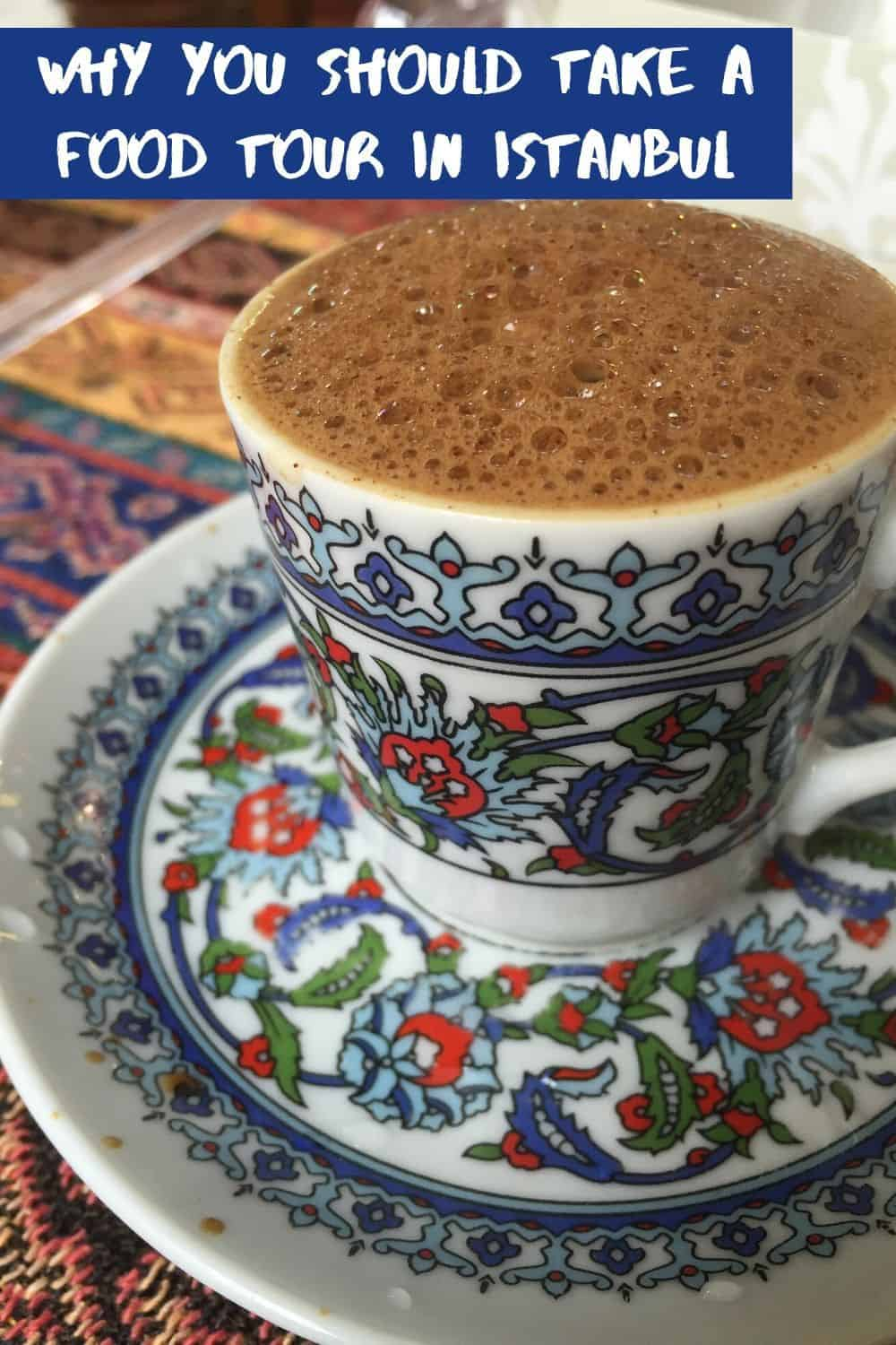 Why you should consider food tours in Istanbul...try the best foods at the local haunts, with tips from a local guide. We took a walking tour of the Asian side of Istanbul and it was amazing. What to eat in Istanbul, things to do in Istanbul. #istanbul #turkey #foodtour #itinerary