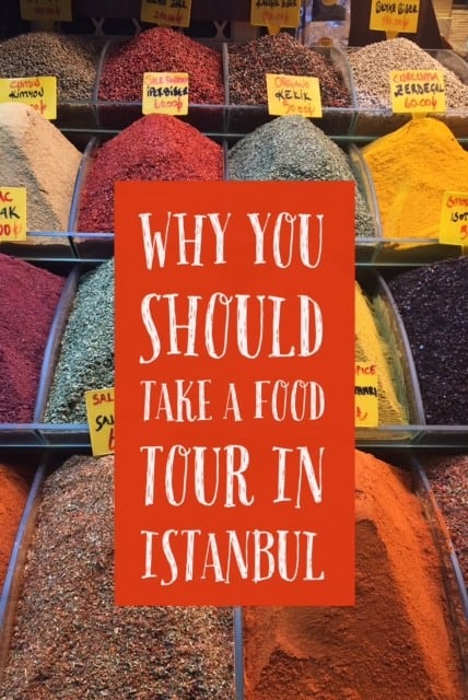 Why you should consider food tours in Istanbul...try the best foods at the local haunts, with tips from a local guide