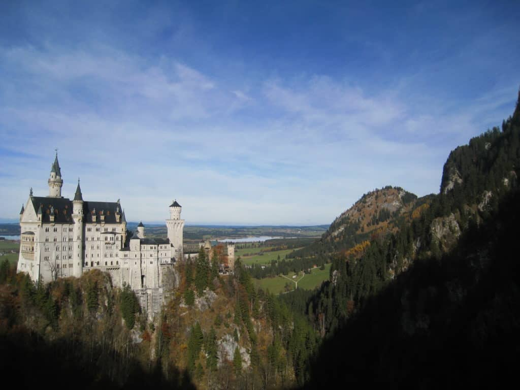 Neuschwanstein Castle is a must-see in southern Germany
