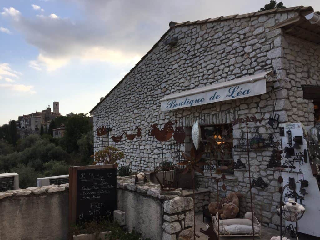 Sunset and farewell from St Paul-de-Vence