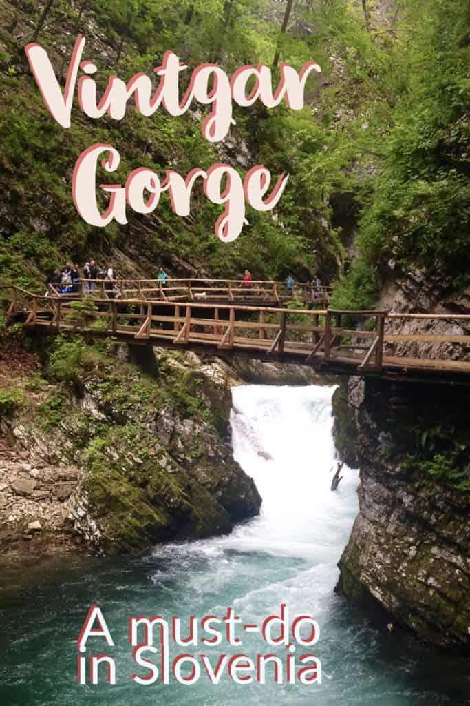 Vintgar Gorge in Slovenia, slightly less known than Lake Bled but only a few minutes away, must do!