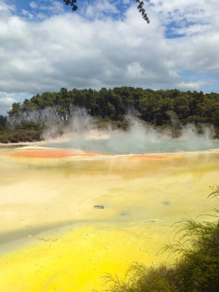 The gorgeous thermal springs of Rotorua New Zealand
