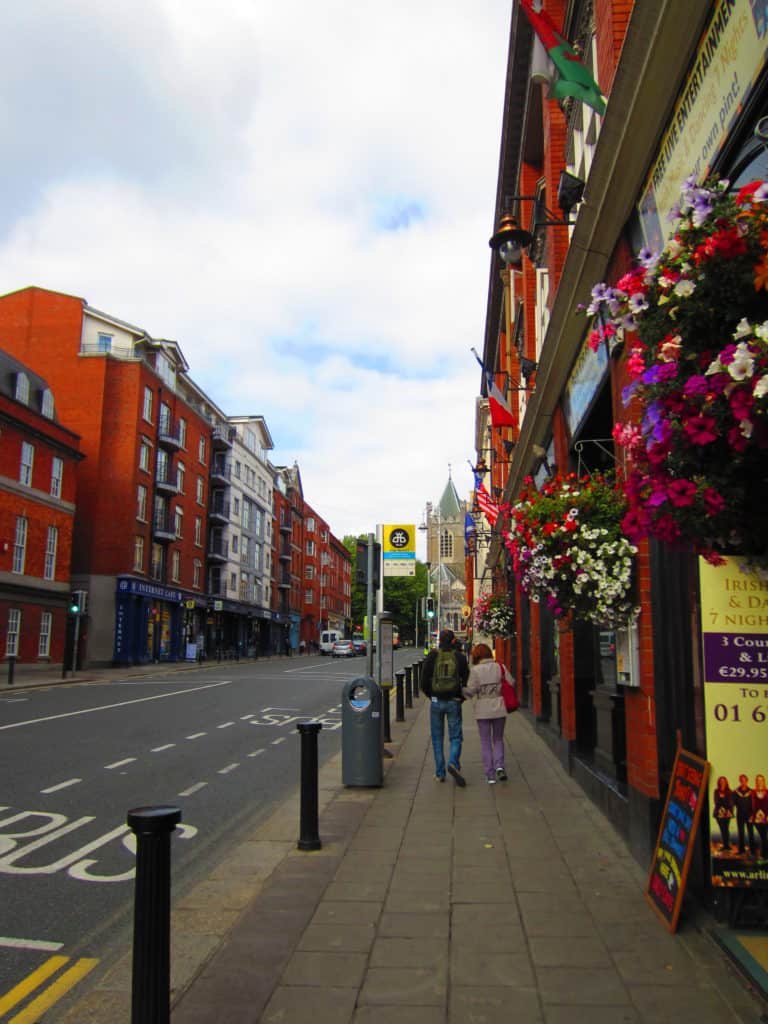 I fell in love with Dublin in only 24 hours...flowers, gorgeous buildings, great food, and more!
