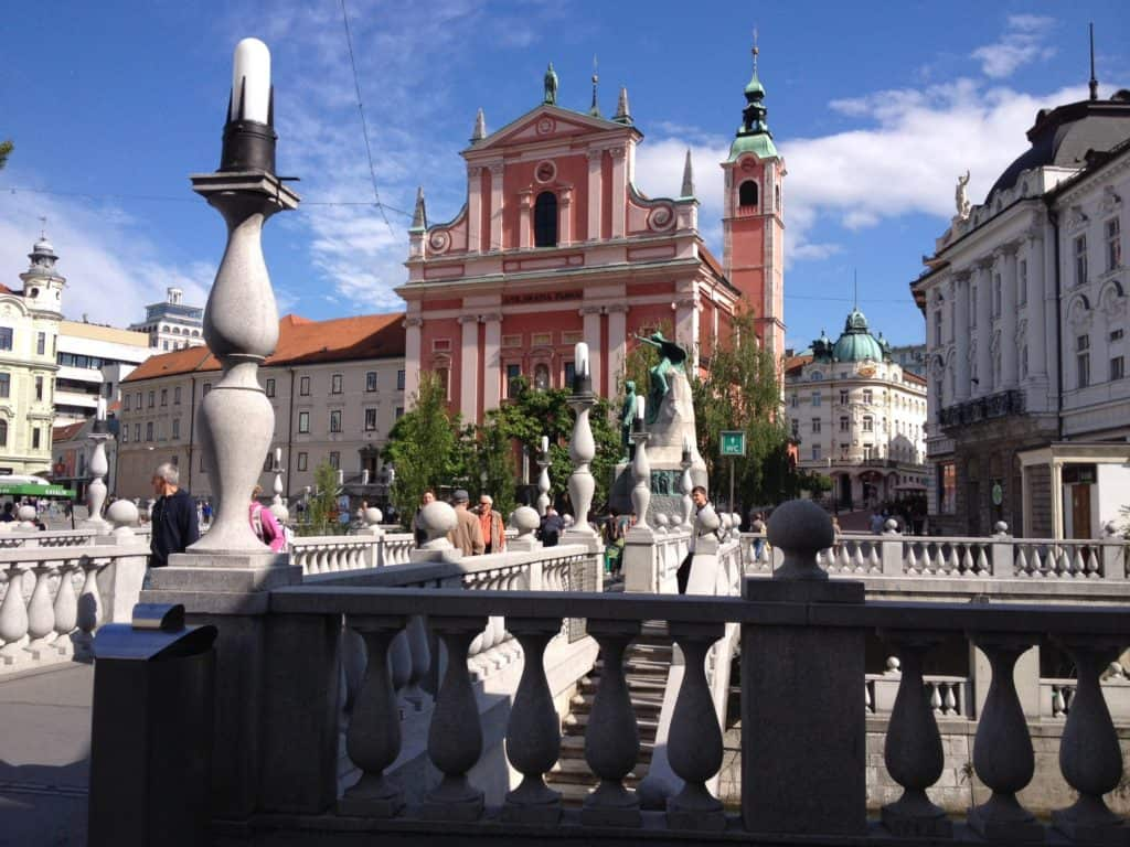 Ljubljana is a beautiful, vibrant city...for a special dinner try Restavricija Strelec in Ljubljana Castle