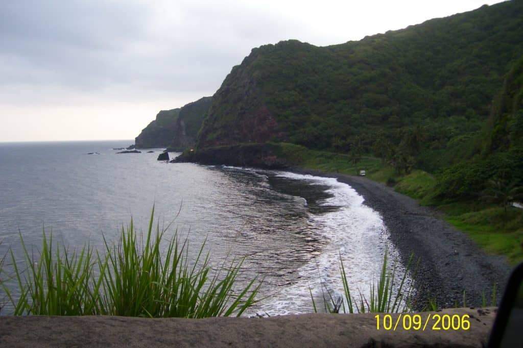 Maui's road to Hana loop