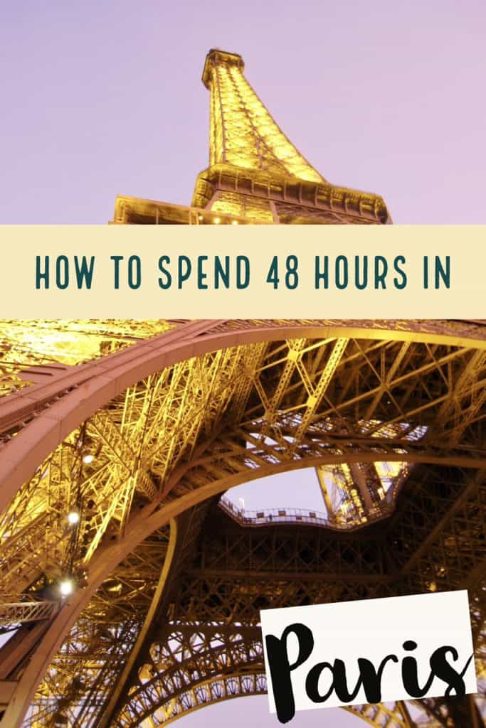 48 HOURS IN PARIS | What to do with 2 days in Paris...tips for making the most of a short visit, how to visit Versailles, Paris itinerary ideas, what to see in Paris!  #paris #france #itinerary