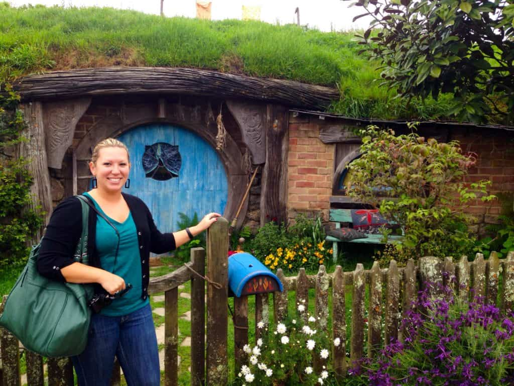 Visiting Hobbiton, New Zealand...see how the Shire came to life in Lord of the Rings!