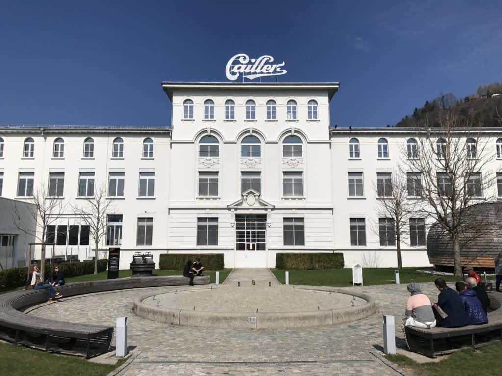 Touring Cailler Chocolate Factory in the Geneva area, Switzerland | If you're going to be in the Geneva area you have to make time for a tour of Cailler Chocolate Factory #switzerland #chocolate #geneva