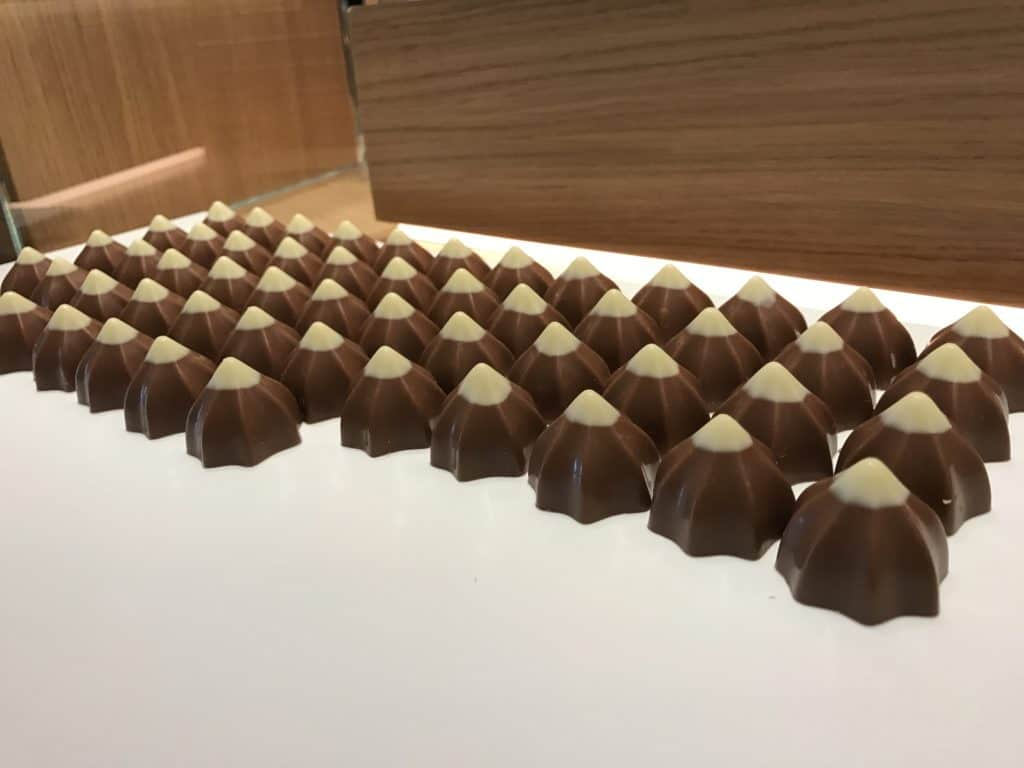 So many things to try at Cailler Chocolate Factory