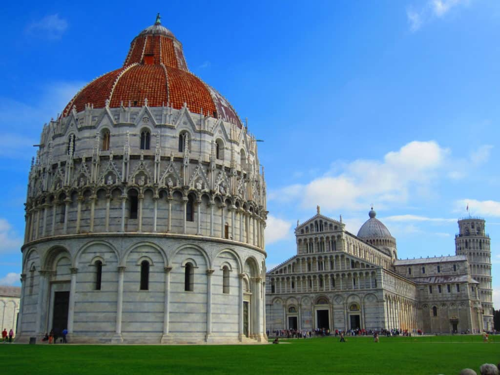 Everything you need to know about visiting Pisa's Leaning Tower and Campo dei Miracoli...an easy day trip from Florence