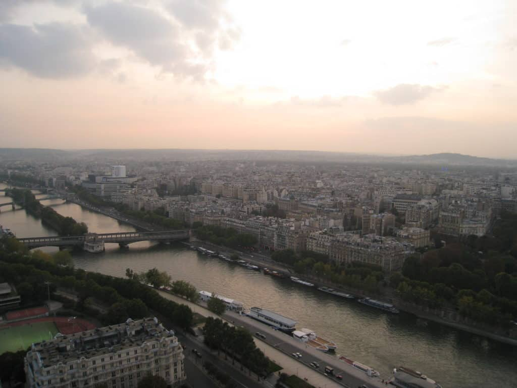 If you have 2 days in Paris, try sunset on top of the Eiffel Tower