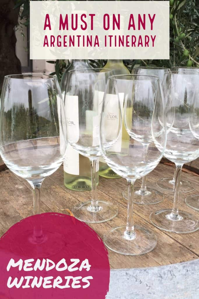 Mendoza Wineries: A Must on Any Argentina Itinerary | Argentina's food and wine are amazing, and Mendoza is one of the best places to experience it! How to plan a winery tour trip in Argentina #argentina #mendoza #wineries