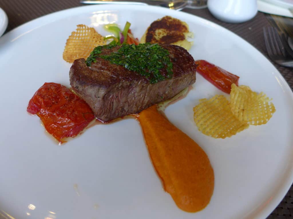 What makes a day touring Mendoza wineries even better? Pairing it with Argentine steak and tons of other amazing food.