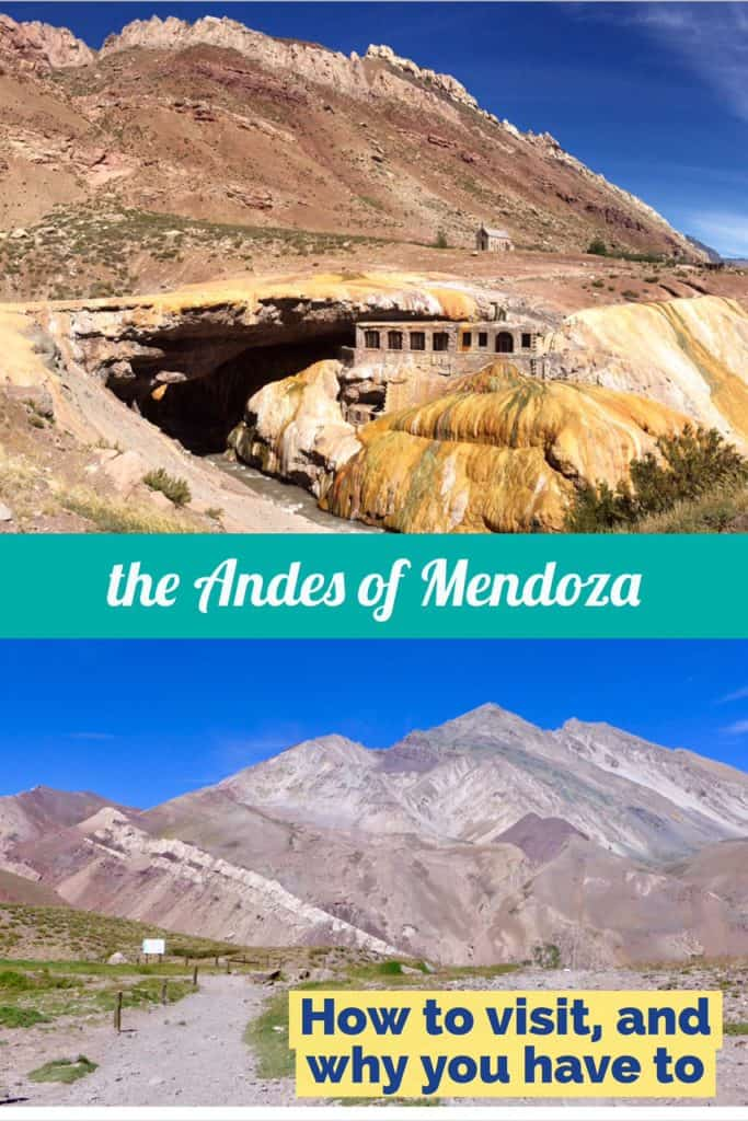 An Andes tour from Mendoza, Argentina | Why taking this tour is the perfect way to experience the gorgeous Andes Mountains...how to plan your visit and why you absolutely have this on your itinerary! How to visit the Andes in Mendoza. #argentina #andes #hiking