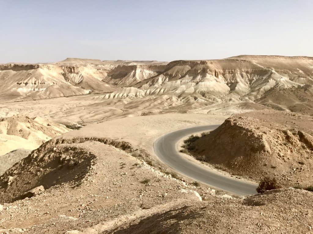 Sooooo much tan on the drive from Tel Aviv to Eilat in Israel