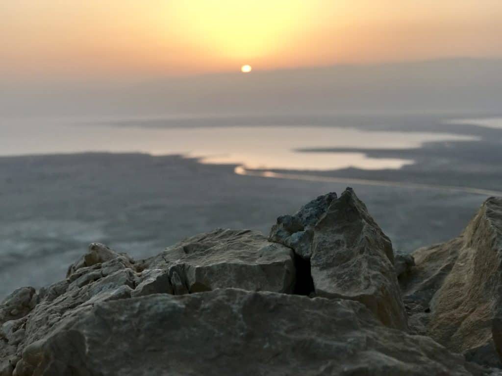 The sunrise hike up Masada was one of my favorite parts of our one week in Israel and Jordan