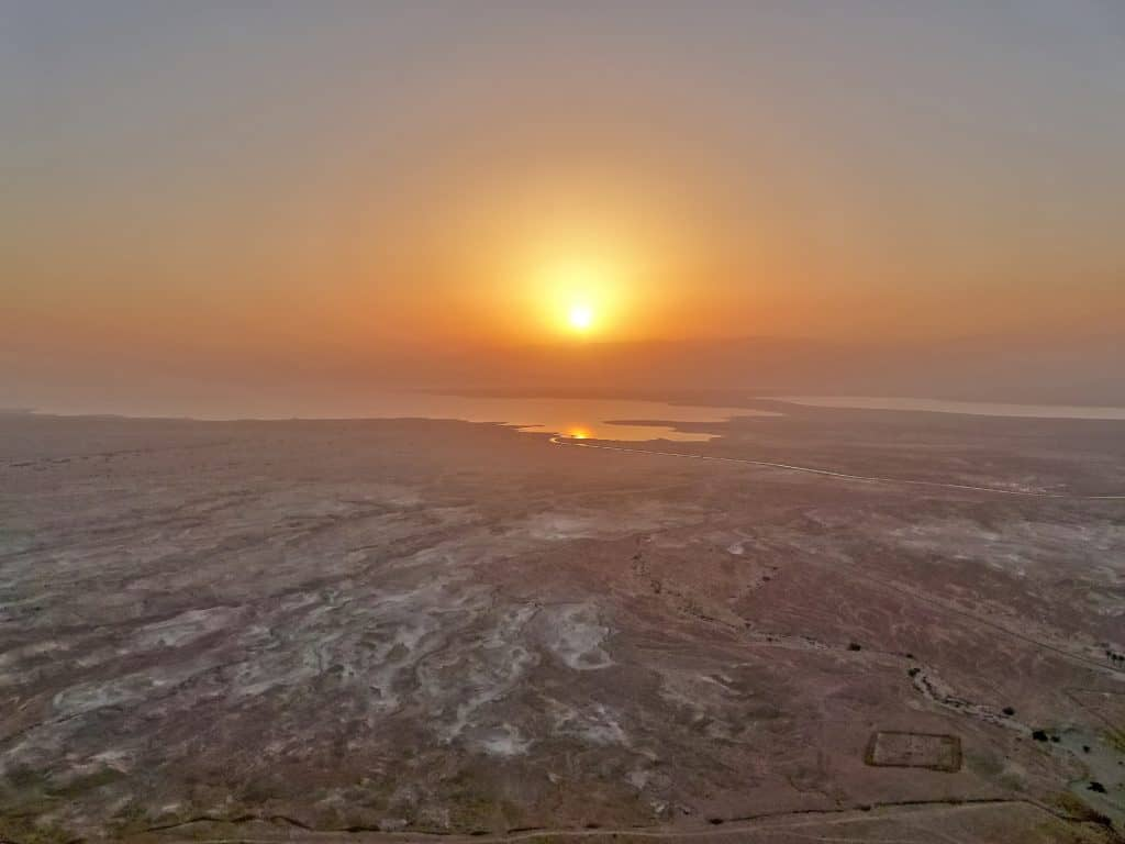 Hike up Masada's Snake Path before dawn to watch sunrise over the Dead Sea...total bucket list item! How to make it happen when you visit Israel.