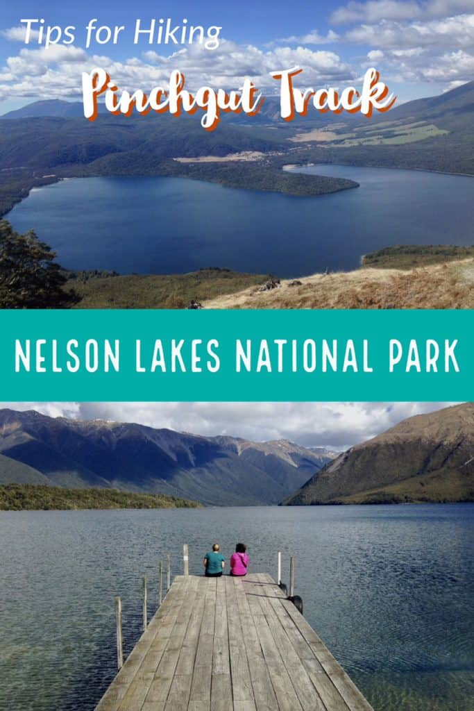 Hiking in Nelson Lakes National Park, South Island of New Zealand | Why you should hike Pinchgut Track in Nelson Lakes National Park, South Island. An easy to moderate half-day hike on the north end of the South Island. #newzealand #hiking