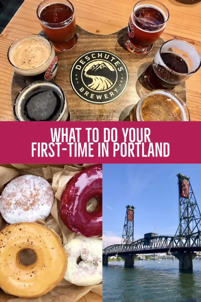 PORTLAND, OREGON | The first-timer's guide for what to do in Portland...tips for the first-time visitor on where to eat, what to see, what to skip | breweries, neighborhoods, where to stay, a Portland weekend itinerary #portland #oregon