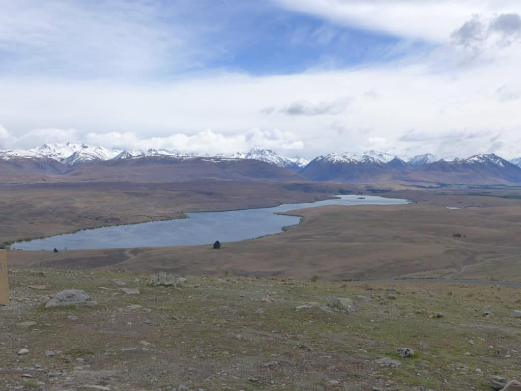 View from Mt. John Observatory near Lake Tekapo, New Zealand