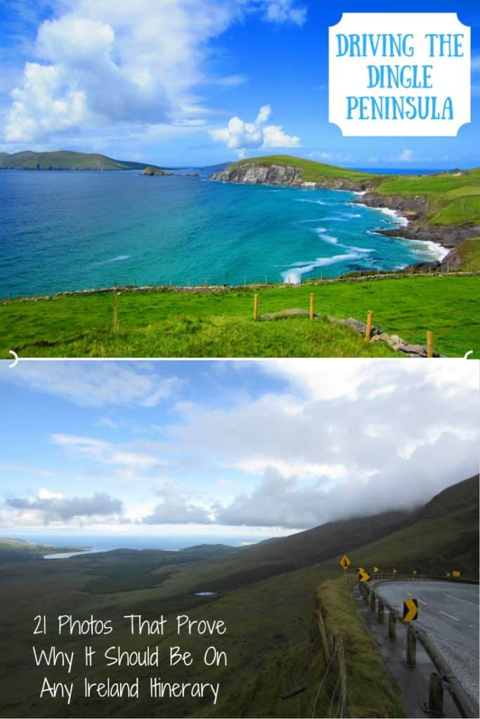 Driving Ireland's Gorgeous Dingle Peninsula | Dingle Peninsula or Ring of Kerry?? Ireland's Dingle Peninsula is one of the most breathtaking drives on the island--which is saying something. Tips for your route, what to see, & why this absolutely must be on your Ireland roadtrip itinerary! #dingle #ireland #roadtrip
