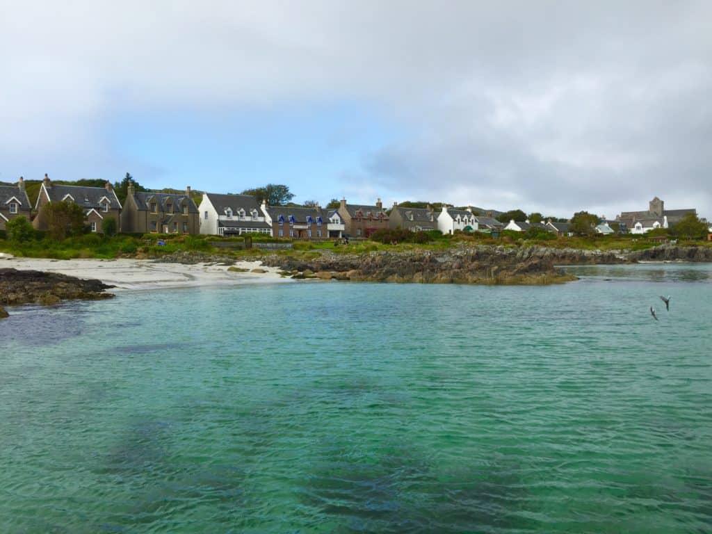 Beautiful view on Iona - 10-day Scotland itinerary