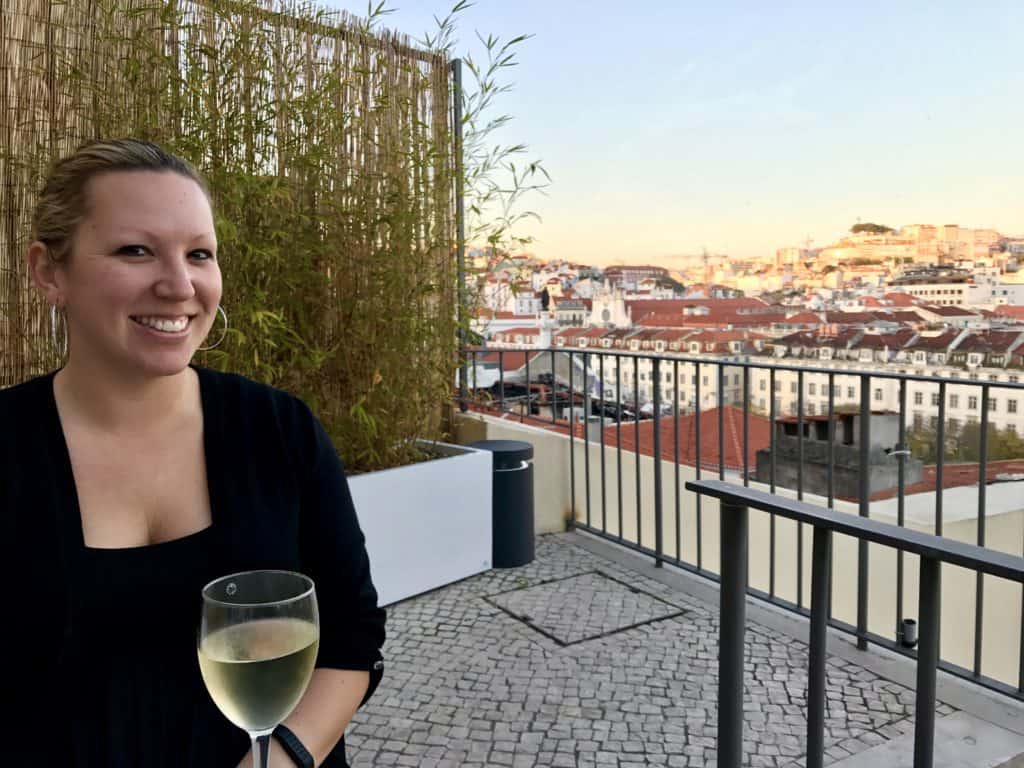 The city of Lisbon at your feet...the best secret rooftop bar that isn't on any other list you'll find. A must for any Portugal itinerary!