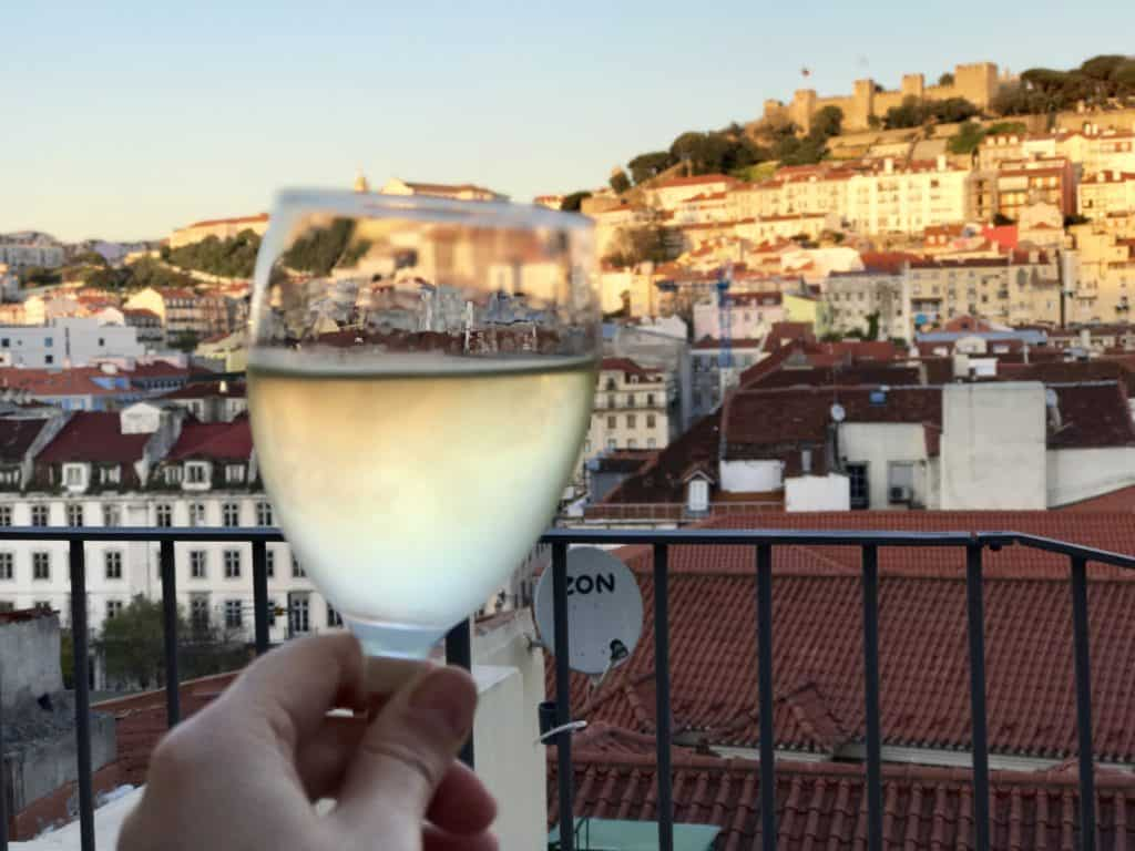 Make sure a cocktail with a view is on your list for Lisbon | 10 things that have to be on your Lisbon itinerary | 24 hours in Lisbon | 1-day lisbon itinerary | Lisbon travel tips | Portugal itinerary ideas