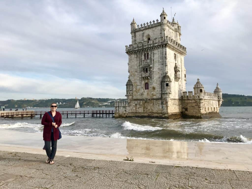 Torre de Belem is a must if you're visiting Lisbon! My top 10 tips for making the most of 24 hours in this gorgeous city! Portugal trip itinerary tips, Lisbon travel tips, planning the best trip to #portugal