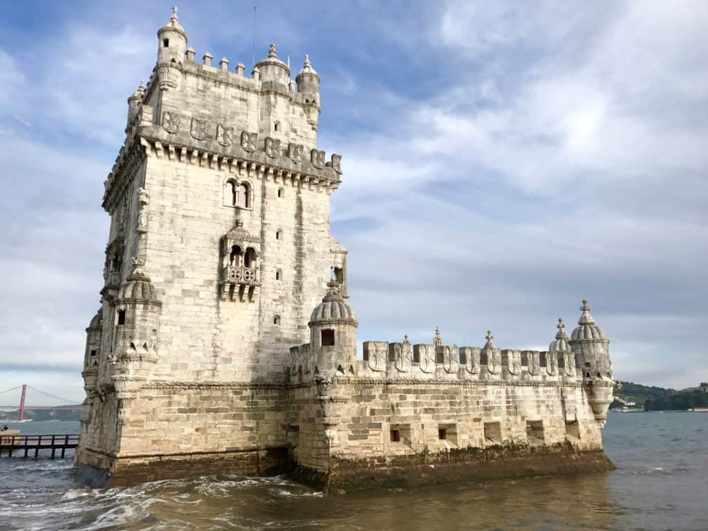 Lisbon's gorgeous Torre de Belem | 10 things that have to be on your Lisbon itinerary | 24 hours in Lisbon | 1-day lisbon itinerary | Lisbon travel tips | Portugal itinerary ideas