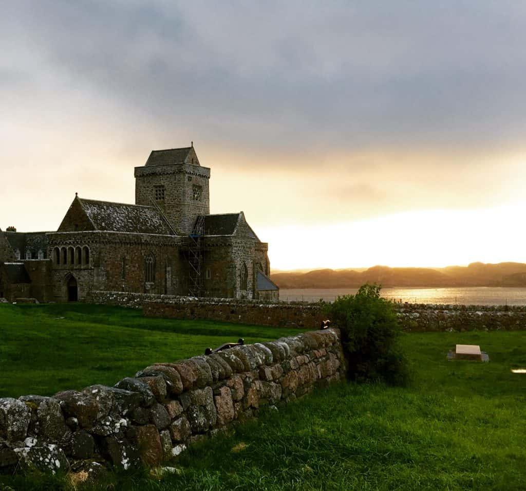Magical sunrise on the Isle of Iona - 10 days in Scotland