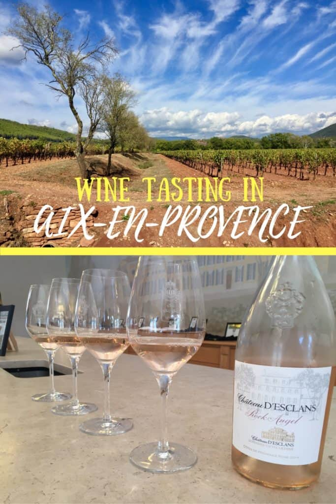 Wineries of Aix-en-Provence: A Day of Winery Tours | A visit to the French Riviera isn't complete without touring the wineries in Provence! Tips from the wine tour we took, which wineries we visited in Aix-en-Provence. Rose all day! #frenchriviera #provence #wineries #france #southoffrance