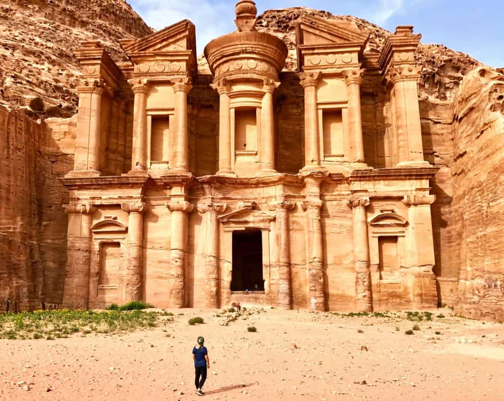 7-Day Israel and Jordan Itinerary | Petra's Monastery