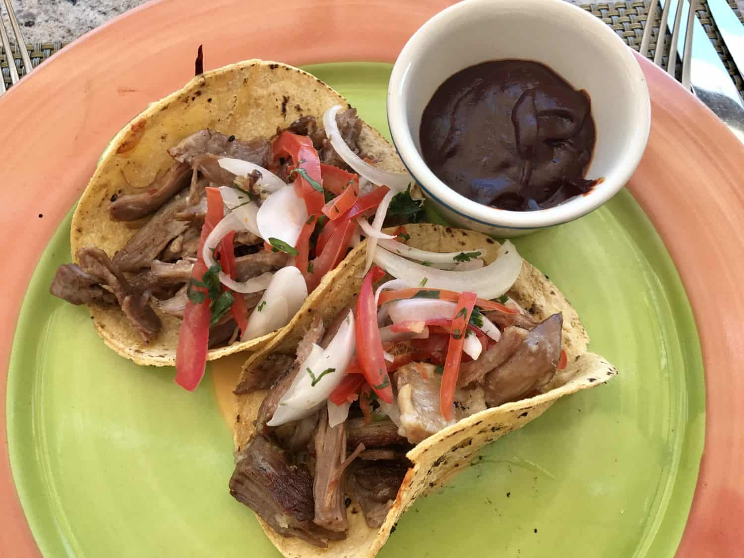 My thoughts on the food at Royal Hideaway Playacar, my first all-inclusive resort experience