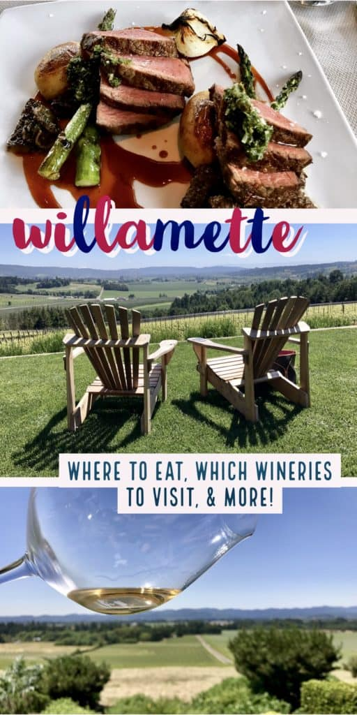 What to do in Willamette Valley | which wineries to visit, where to eat, how to plan your trip | Everything you need to know for a visit to the Willamette Valley, Portland itinerary, wine weekend in Oregon, the perfect girls' trip #willamette #wineries #oregon