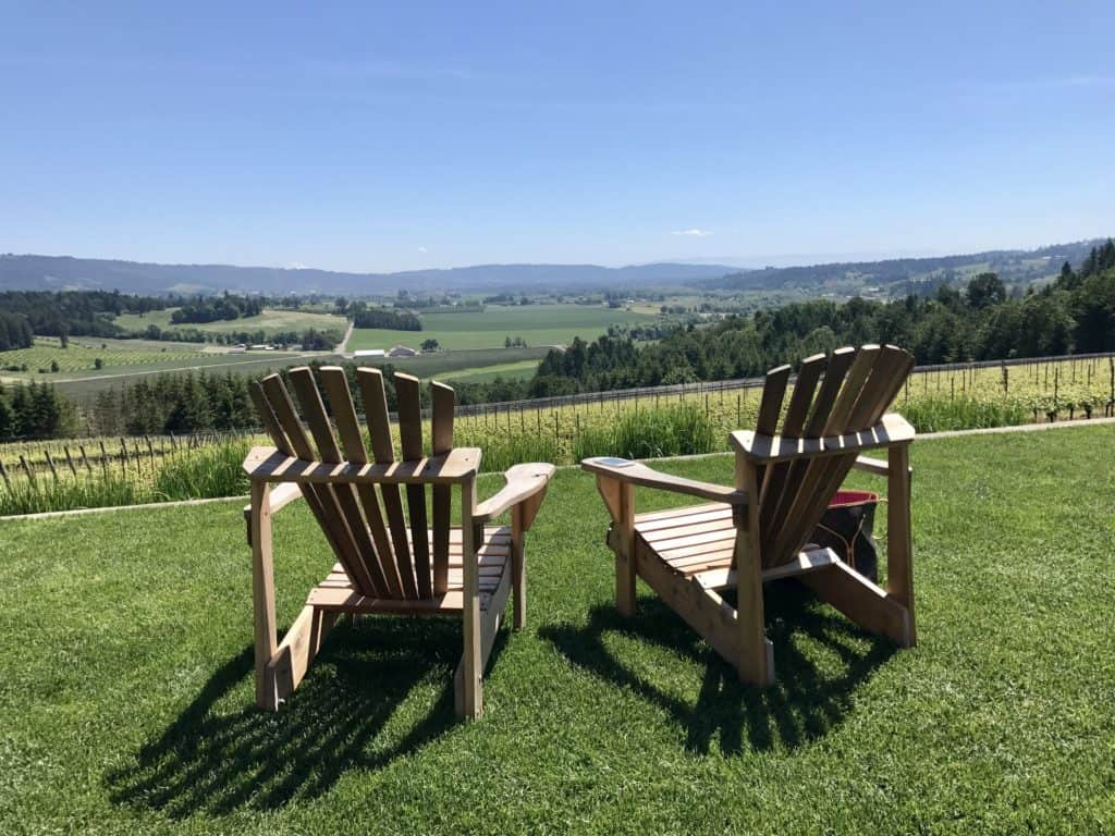 What to do in Willamette Valley | which wineries to visit, where to eat, how to plan your trip | Everything you need to know for a visit to the Willamette Valley, Portland itinerary, wine weekend in Oregon, the perfect girls' trip. Willamette is a must on your Oregon itinerary. #willamette #wineries #oregon