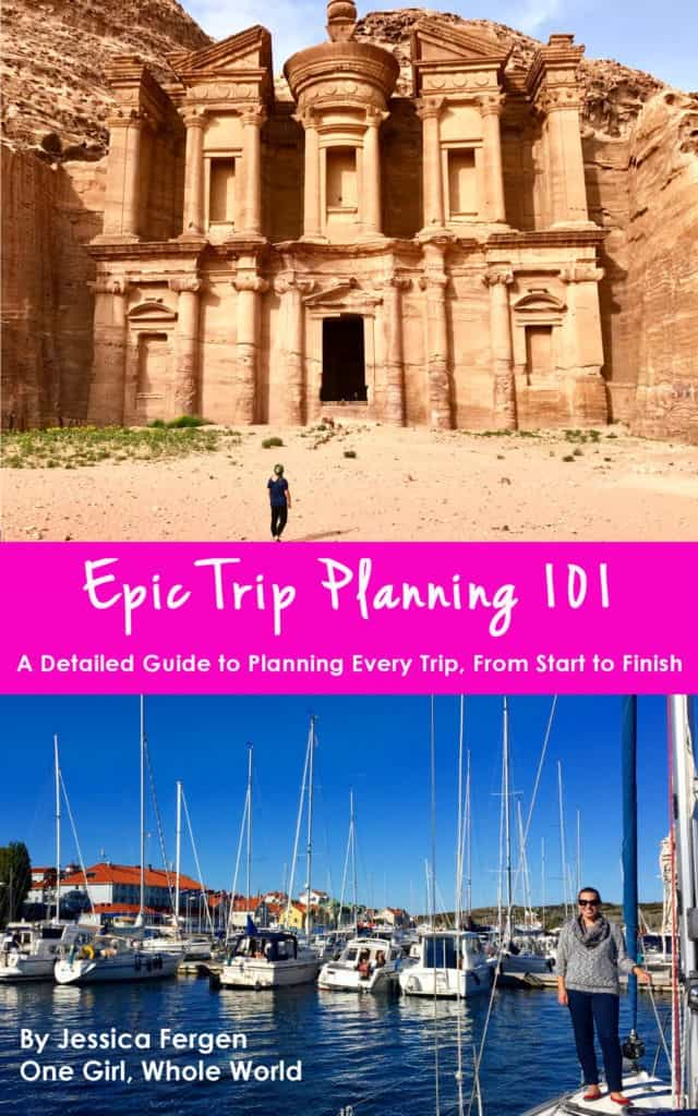 Epic Trip Planning 101: a detailed guide to planning every trip, from start to finish
