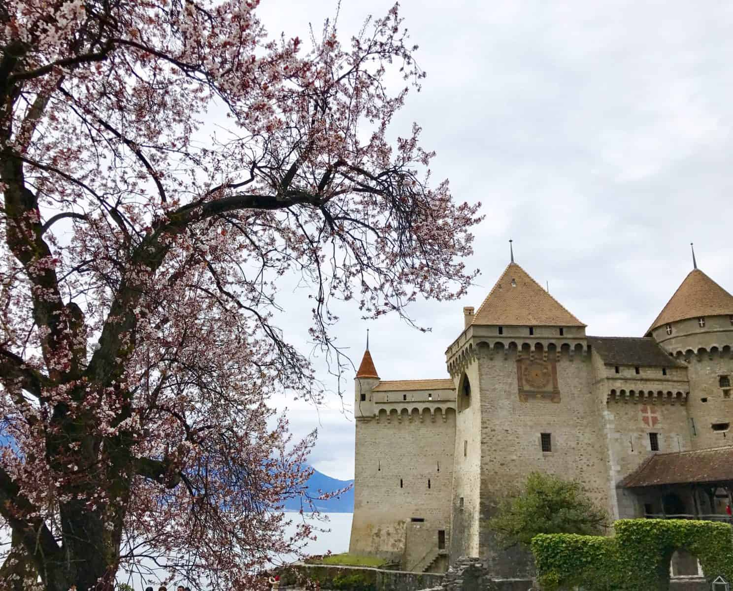 Day trips from Geneva - Chateau Chillon is a must!