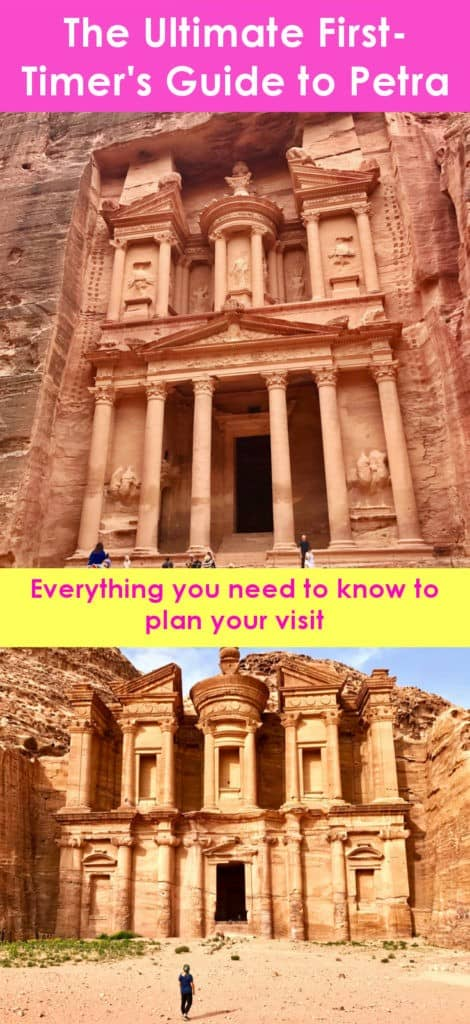 The ultimate first-timer's guide to Petra | how to plan a self-guided visit to Petra, how to visit Petra, what to do in Jordan, Petra travel guide, travel tips for Petra, where to stay in Wadi Musa, Petra Jordan #petra #jordan #bucketlist