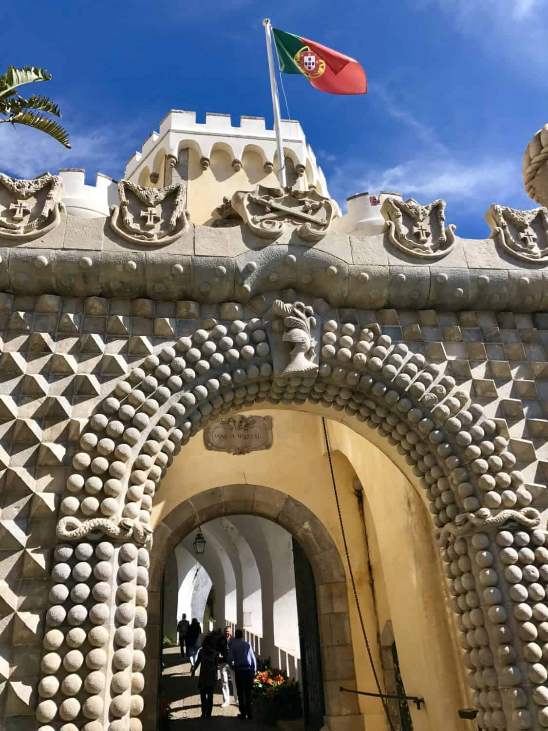 Gorgeous Pena Palace | A guide to visiting magical Sintra, Portugal, a perfect guide for any first-timer | What to do in Sintra, which castles to visit, how to plan your trip | Sintra is the perfect day trip from Lisbon, but you could easily spend a few days exploring all the amazing history! #sintra #portugal