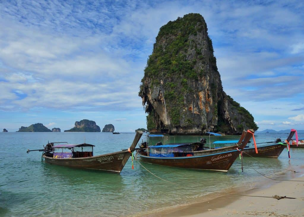 Southeast Asia is one of my 10 places you should visit in 2018 | both hot destinations and off-the-beaten path. From Greek islands to the waterfalls of Iceland and the architecture of Prague and Estonia, destinations you should consider! #travelinspiration #tripplanning #2018destinations #asia #thailand