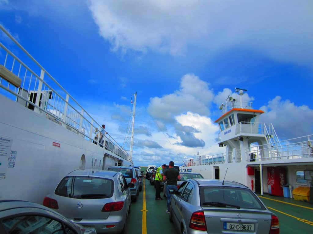 Ferry from Tarbert, Ireland...headed to Loop Head!