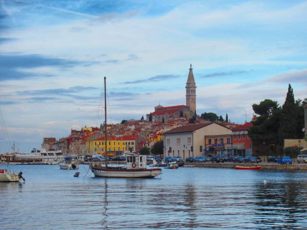 Rovinj's harbor, the jewel of northern Croatia   a charming coastal town in Istria, perfect base for exploring the hill towns of Croatia