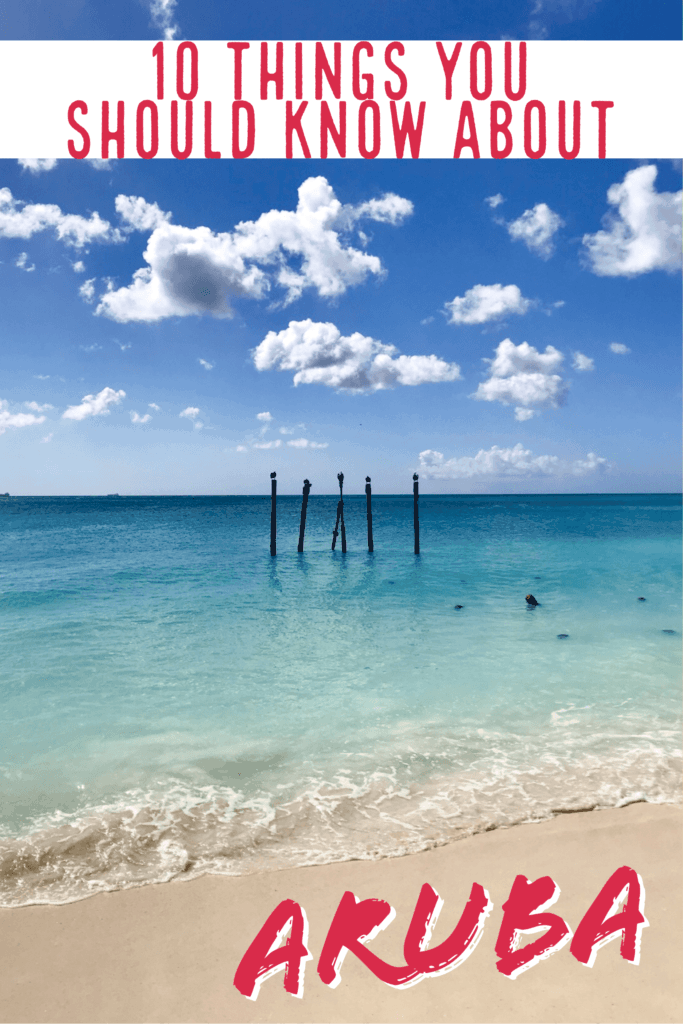 Is Aruba the right island for your next trip? 10 Aruba facts to help you decide...from its dry, windy climate (making for great water sports), location outside the hurricane belt, to amazing food and culture, Aruba is the perfect Caribbean island to visit! #aruba #caribbean #beach