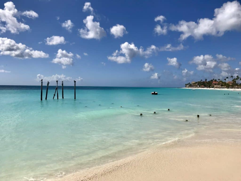 Beautiful Divi Beach in Aruba