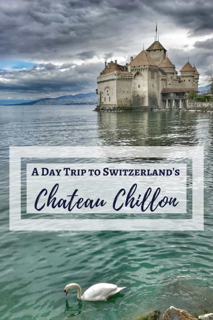 Switzerland's Chateau Chillon and tiny Yvoire, France, are a perfect day trip from Geneva | how to plan your trip, how to visit Chateau Chillon, day trips from Geneva, what to do in Geneva, Switzerland trip planning tips #chateauchillon #yvoire #geneva #switzerland