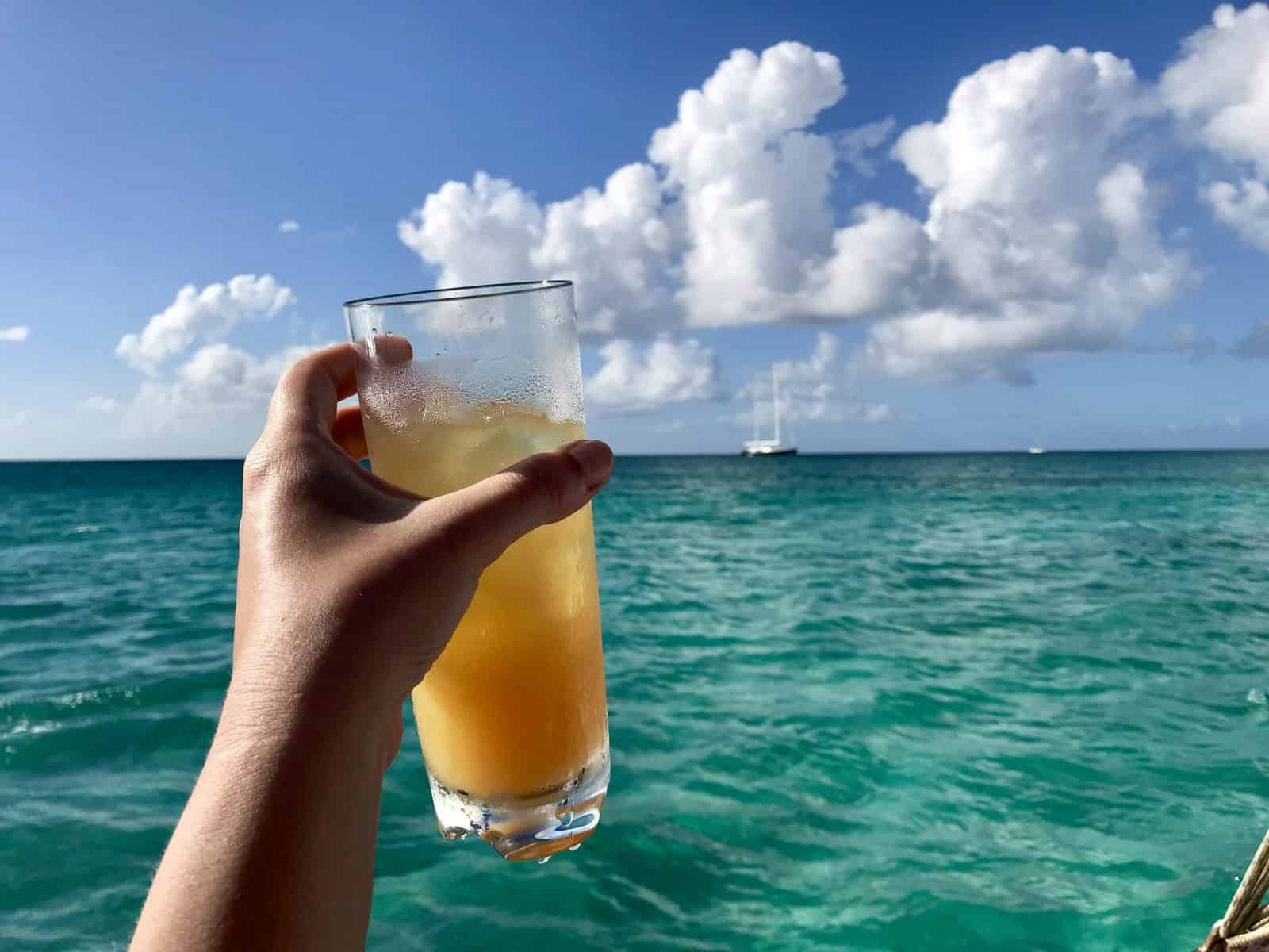 Sailing and snorkeling is a must for any Aruba trip