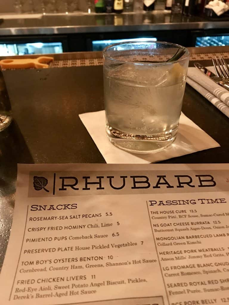 If you're in Asheville for the weekend, try out a nice dinner at Rhubarb, Curate, or Table...amazing food and great ambiance! What to do in Asheville, weekend itinerary in Asheville
