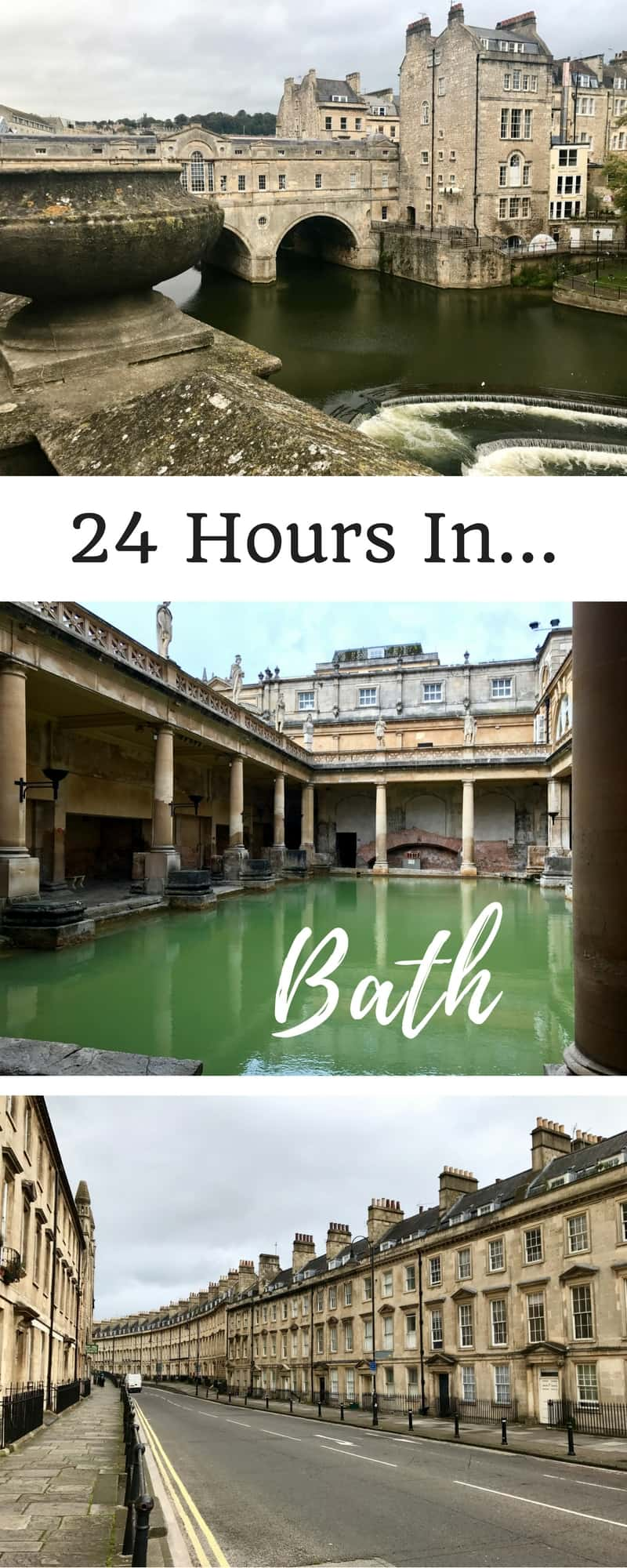 What to do in Bath, especially with a short time | Itinerary ideas for Bath, England UK...it's such a compact little city and there's a ton of fun history, architecture, and literary references (Jane Austen!) | things to do in Bath UK #bath #england #romanbaths #ukroadtrip