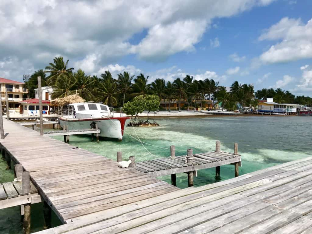 Tips for a super chill non-party vacation in Caye Caulker, Belize